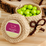 <em>Design Your Own Collection</em> burlap boxes