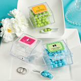 <em>Design Your Own Collection</em> candy bin favors