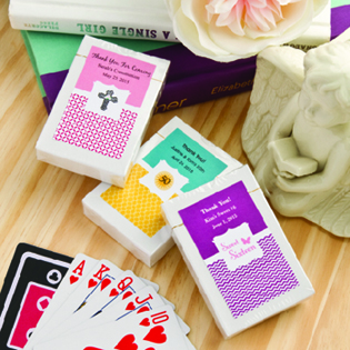 Design your Own Collection  Playing Cards - With Personalized Box