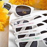 Personalised Sunglasses from Fashioncraft