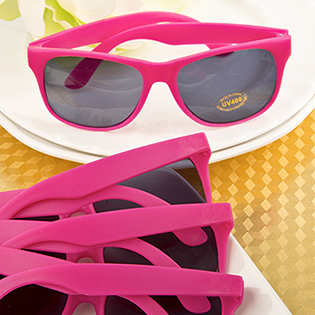 Hot Pink Sunglasses from Fashioncraft