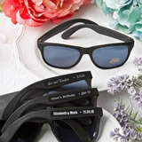Personalized Expressions Collection cool black sunglasses