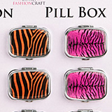 Animal Print Pillbox