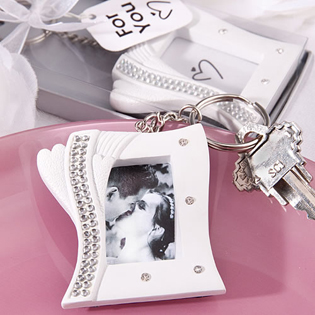 Bling Collection  frame keychain favors..