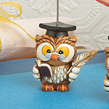 Wise Graduation Owl Place Card Holder from Fashioncraft