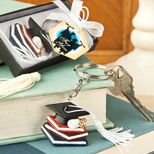 Graduation Themed Key Chains