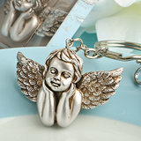 Heavenly cherub design key chains
