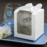 White Gift Box For Personalized 9oz stemless wine glasses
