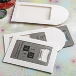 White Gift Box For Personalized Bottle Openers