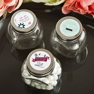 Vintage Design Collection candy glass jar