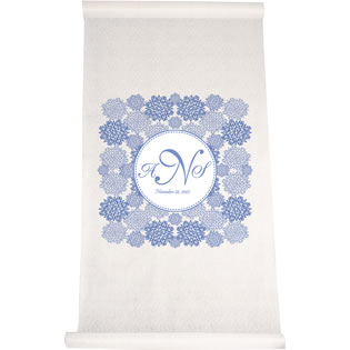 Floral Lace Aisle Runner