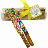 Gift Box of 4 Confetti Pretzel Wands