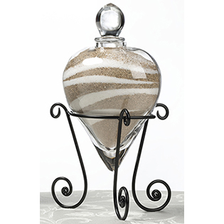 Heart Unity Vase w/Stand