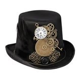 Lillian Rose Steampunk Top Hat Ring Holder