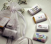 Hersheys Mini-Chocolate Wedding Favors
