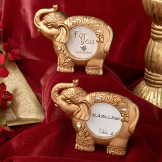 Good luck gold Indian elephant picture frame from fashioncraft