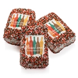 "2"" x 3"" Rice Krispies Chocolate Picture Treats- Individually Wrapped (NO STICK)"