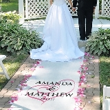 Embracing Hearts Aisle Runner