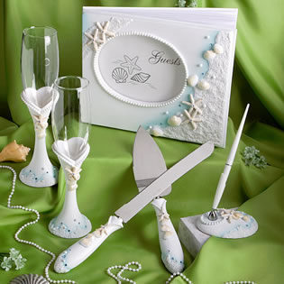 Finishing Touches Collection  - Beach Themed  Wedding Day Accessories