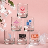 Personalized Shot Glass Favors - ON SALE
