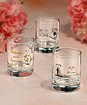Imprinted Shot Glass Wedding Favors
