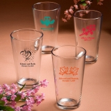Personalized Pint Glass Favors