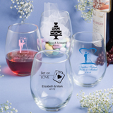 Stemless Wine Glasses 15 Ounce