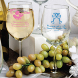 Personalized 12 Oz Wine Goblet Favors
