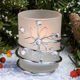 Winter Themed Candle Wedding Favors