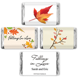 Fall Theme Hersheys Mini Chocolates (4 designs available)