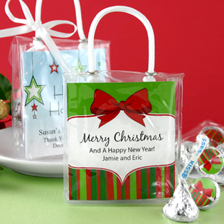 Holiday Hershey's Kisses Mini Gift Tote
