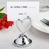 Heart Placecard Holders