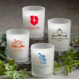 Personalized Votive Candle Favors