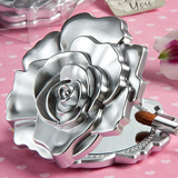 Realistic Rose Design Mirror Compacts
