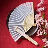 Silk Fan Favors..