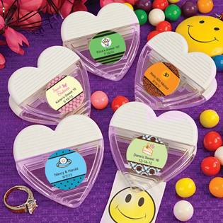 Personalized Expressions Collection Heart Shaped Memo Clip Favors