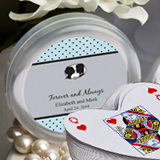 Design Your Own Collection Heart Shaped Playing Cards