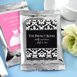 Personalized Coffee Silver Pack