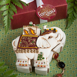 Elephant Design Curio Boxes..