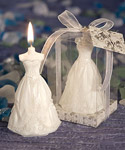Wedding Gown Candles