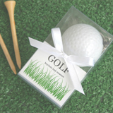 """A Leisurely Game of Love"" Golf Ball Tape Measure"