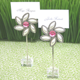 """Love Blooms"" Flower Place Card Holders"