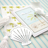 """A Jewel from the Sea"" Seashell Bookmark"
