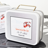 Love Is in the Air Suitcase Tins