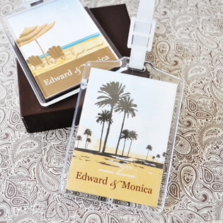 Personalized Acrylic Luggage Tags
