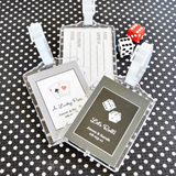 Vegas Acrylic Luggage Tags