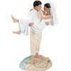 Hispanic Beach Couple Figurine
