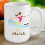 Personalized Go-Girl Coffee Mug
