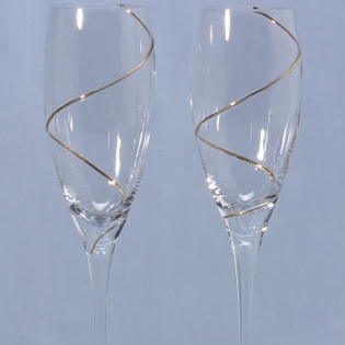 Toasting Flute Favors (Set of Two)