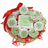 Holiday Cookie Basket Favors